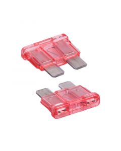 Accelevision 5710 ATC 10 Amp Fuse 20-Pack - Front/Back