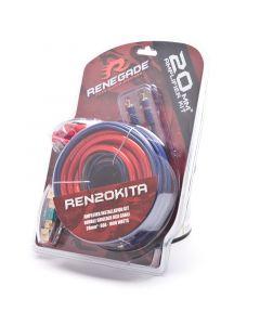 Renegade REN20KITA 4 Gauge Amplifier Installation Kit - Right side