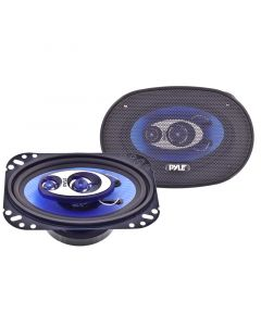Pyle PL463BL 4x6 Inch Car Speaker System - Main