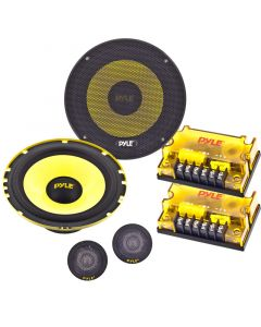 "Pyle PLG6C 6.5"" Component Car Audio Speaker System - Main"