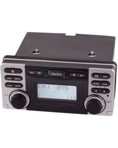 Clarion CMD8 Watertight Marine Radio - Front of unit
