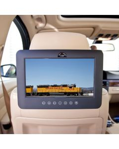 Quality Mobile Video DVD9000 9 inch Universal attachable DVD headrest Monitor - Installed front
