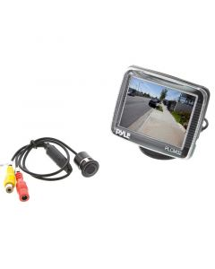 """Pyle PLCM32 3.5"""" TFT LCD Monitor with surface / flush mount camera system"""
