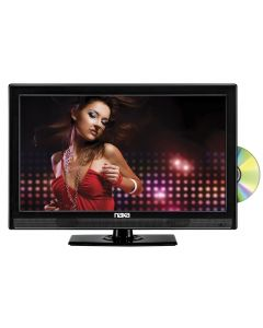 """DISCONTINUED - NAXA NTD1954 19"""" Widescreen LED HDTV with Built-In Digital TV Tuner and DVD Player"""