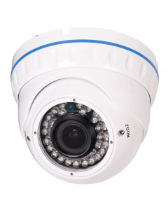 "Safesight TOP-SS-NTSNHD 1/3"" 2.1 Megapixel 1080p HD-SDI Panasonic Dome CCTV camera - Front left of camera"