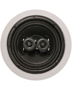 "ArchiTech AP-611 6-1/2"" 2-Way Single Point Stereo In-Ceiling Speaker - No speaker grill"