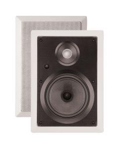 "ArchiTech Prestige Series PS-602 6-1/2"" 2-Way In-Wall Speaker - Speaker pair"