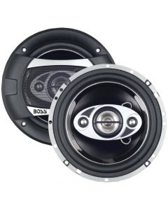 """Boss Audio P65.4C Phantom Series Speakers with Electroplate Injection Cone 6.5"""""""