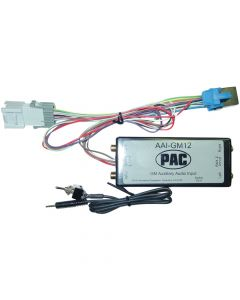 PAC AAI-GM12 Auxiliary Audio Inputs and Interfaces 2003 GM