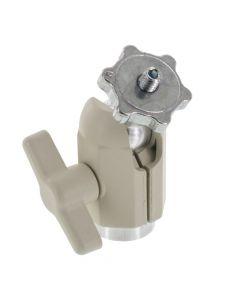 PanaVise 851-00W Adjustable Knuckle with 1/4-20 Stud - White finish