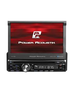 Power Acoustik PD-720B Single DIN 7 inch Flip-Up DVD/CD Receiver with Bluetooth