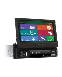 "Power Acoustik PD-620H In-dash Receiver with 6.2"" Touchscreen for vehicles"