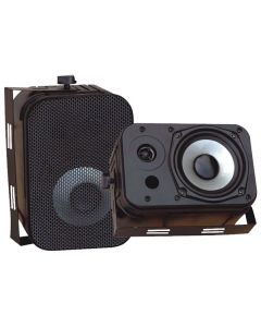 "PYLE PDWR40B 5.25"" Indoor/Outdoor Waterproof Speakers Black"