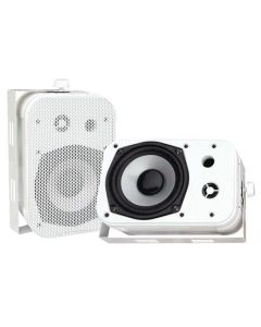 "PYLE PDWR40W 5.25"" Indoor/Outdoor Waterproof Speakers White"