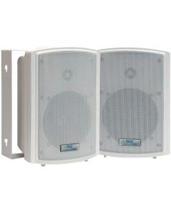 PYLE PDWR53 Indoor/Outdoor Waterproof On-Wall Speakers 5.25""