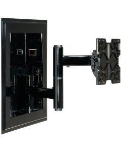 "Peerless IM760P In-Wall Mounts For 32"" - 71"" Flat Panel Screens Gloss Black"
