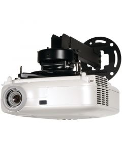 "Peerless PRS-EXA 8.7"" - 12.8"" PRS Series Adjustable Projector Ceiling/Wall Mount Kit Black"