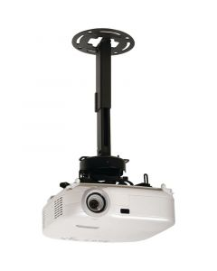 "Peerless PRS-EXC 19.13"" - 32.91"" PRS Series Adjustable Projector Ceiling Mount Kit Black"