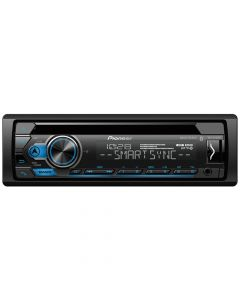 Pioneer DEH-S4100BT Single-DIN In-Dash CD Receiver with Bluetooth and Pioneer Smart Sync
