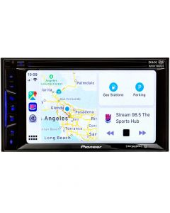 Pioneer AVH-1500NEX Double DIN 6.2 inch In Dash Car Stereo Receiver with DVD, Apple CarPlay and SiriusXM ready