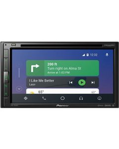 Pioneer AVH-2550NEX Double DIN 6.8 inch In Dash Car Stereo Receiver with DVD, Apple CarPlay, Android Auto and SiriusXM ready