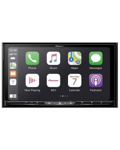 Pioneer AVIC-W8600NEX Double DIN 7 inch In Dash Car Stereo Receiver with Navigaiton, WiFi, Capactive Touchscreen plus Wireless Apple Carplay & Android Auto