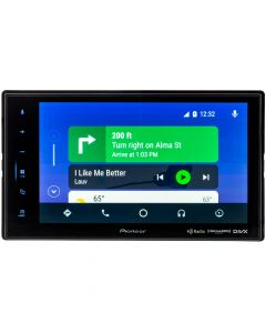 Pioneer DMH-C5500NEX Double DIN 8 inch Modular Digital Media Receiver with Capactive Touchscreen, Apple Carplay, Android Auto, and HD Radio