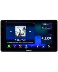 Pioneer DMH-WT7600NEX Single DIN 9 inch Modular Digital Media Receiver with Capacitive Touchscreen, Apple Carplay, Android Auto, and HD Radio - main