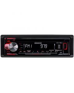 Kenwood KDC-168U Single DIN Car Stereo Receiver - Main