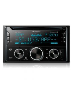 Pioneer MVH-S620BS Double DIN Digital Media Receiver with Pioneer Smart Sync App Compatibility, MIXTRAX, Bluetooth and SiriusXM Ready