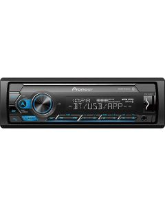 Pioneer MVH-S322BT Single-DIN DIN Digital Media Receiver with Pioneer Smart Sync App Compatibility, MIXTRAX and Bluetooth