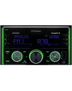 Pioneer MVH-S622BS Double DIN Digital Media Receiver with Pioneer Smart Sync, Bluetooth, SiriusXM Ready and Amazon Alexa