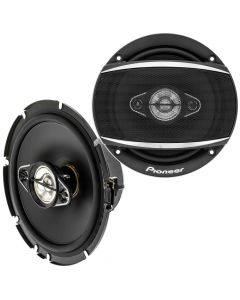 """Pioneer TS-A1680F 6-1/2"""" 4-Way Coaxial Speakers"""