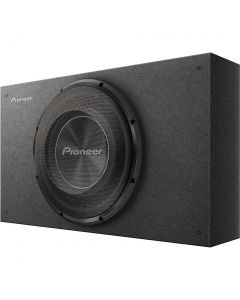 """Pioneer TS-A2500LB Single 10"""" Shallow-Mount Sealed Pre-Loaded Enclosure"""