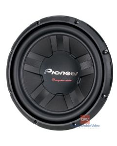 """Pioneer TS-W311S4 12"""" Car Subwoofer - Top"""