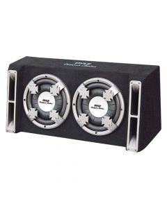 "Pyle PL212DS Dual Slim Designed Bass Box System 12"""