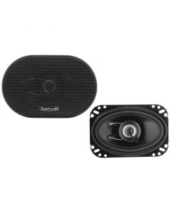 Planet Audio TRQ462 4 x 6 inch Coaxial Car Speakers - Main