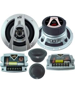 Pyle PLDV6K Driver Series 6.5 Inch 2-Way Component Speaker System