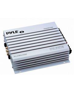 Pyle PLMR-A400 4-Channel 400-Watt Waterproof Marine Amplifier