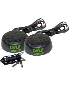 "Pyle PLWT3 Wave Series 1"" 120-Watt Mini Mylar Dome Tri-Mount Tweeter"