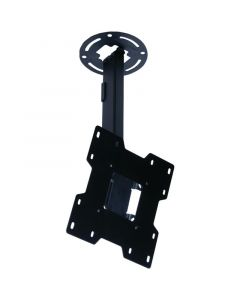 """Peerless PRO PC932A Pro Series 10"""" - 14"""" Drop Ceiling Mount For 15"""" - 37"""" LED Screens Black"""