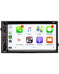 "Power Acoustik CPAA-70D 7"" Double DIN DVD/CD Receiver with Apple Carplay and Android Auto"