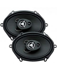 Power Acoustik EF573 5 x 7 inch Tri-axial - 3 way Car Speakers