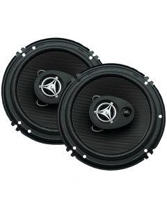 Power Acoustik EF653 6 1/2 inch Tri-axial - 3 way Car Speakers