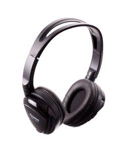 Power Acoustik HP-12S Dual Channel Wireless Headphone - Side view