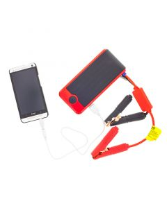 PowerAll PBJS12000R 12 Amp Portable Jump Starter and Power Center with Phone charging - All Cables included