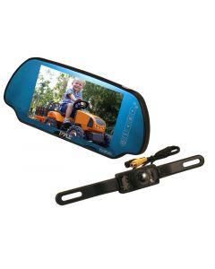 Pyle PLCM7200 7 Inch TFT Mirror Monitor Back-Up Night Vision Camera Kit