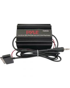 "Pyle PLDN36I iPod Direct to 1/8"" to 3.5mm Stereo Audio Ground Loop Isolator"