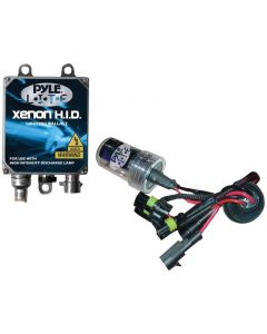 Pyle PLHID9004K 8000K HID Xenon Driving Light System Kit Dual Beam 9004 Series Bulbs