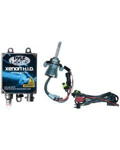 Pyle PLHIDH7K 8000K HID Xenon Driving Light System Kit Single Beam H7 Series Bulbs